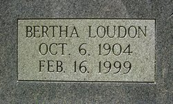 Bertha <i>Loudon</i> Cole