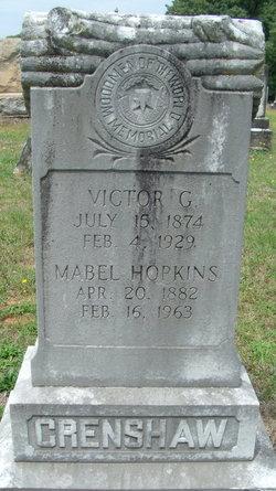 Victor Gustavious Crenshaw