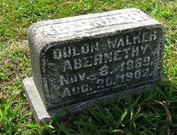 Deelon <i>Walker</i> Abernathy