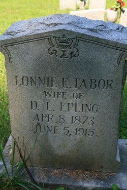 Lonnie Eliza <i>Tabor</i> Epling