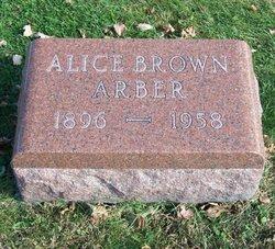 Alice <i>Brown</i> Arber