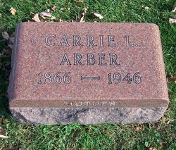 Carrie Louise <i>Needham</i> Arber