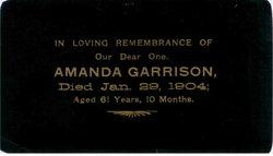 Amanda <i>Littleton</i> Garrison