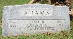 Florence Alice <i>Roberts</i> Adams