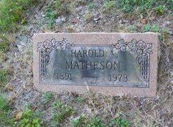 Harold A Matheson