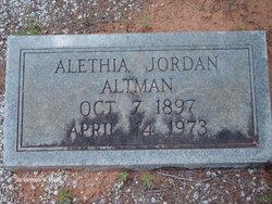 Alethia Allie <i>Jordan</i> Altman