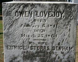 Eunice Conant <i>Storrs</i> Lovejoy
