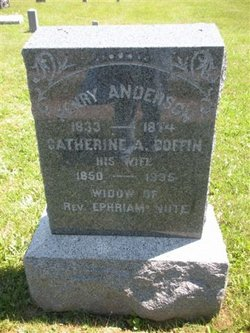 Catherine A <i>Coffin</i> Anderson