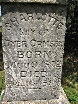 Charlotte <i>Wilcox</i> Ormsby