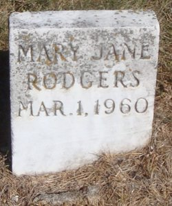Mary Jane Rodgers