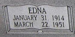 Edna Earl <i>McIver</i> Thrasher