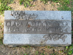 Clara <i>Musler</i> Blocklinger
