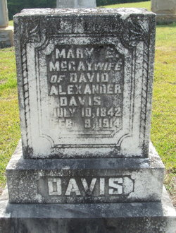 Mary Eveline <i>McCay</i> Davis