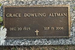 Grace <i>Dowling</i> Altman