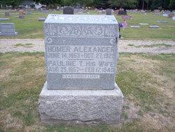 Pauline Tennessee <i>Chitwood</i> Alexander