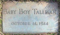 Baby Boy Tallman