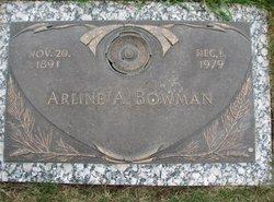 Arline A Bowman