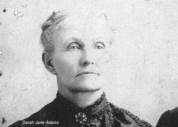Sarah Jane <i>Carpenter</i> Adams