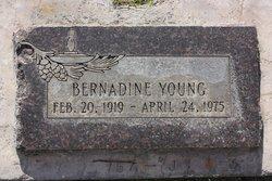 Bernadine E Young