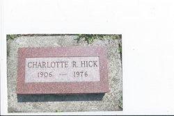 Charlotte Mildred <i>Richardson</i> Hick