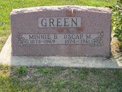 Oscar M Green