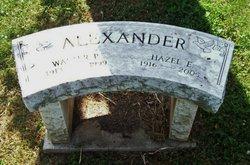 Hazel E. <i>Emery</i> Alexander