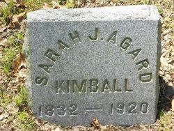 Sarah J. <i>Agard</i> Kimball
