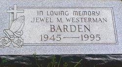 Jewel Marie Judy <i>Westerman</i> Barden