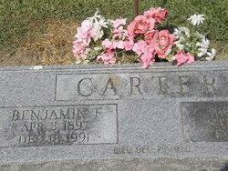 Benjamin Franklin Carter