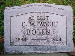 George Washington Wash Bolen