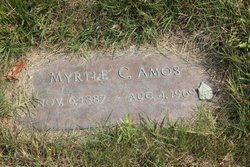Myrtle Carrie <i>Hamlin</i> Amos