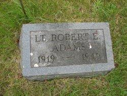 Lieut Robert E Adams