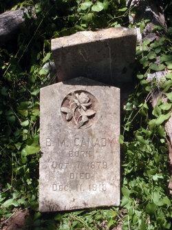 B.M. Canady