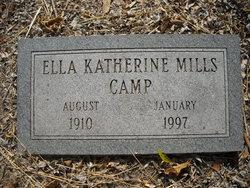 Ella Katherine <i>Mills</i> Camp
