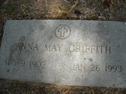 Anna May Annie <i>Camp</i> Griffith