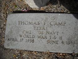 Thomas Felton Tom Camp, Sr