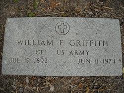 Corp William Franklin Bill Griffith, Sr