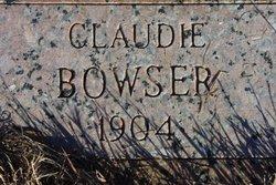 Claudie Bowser