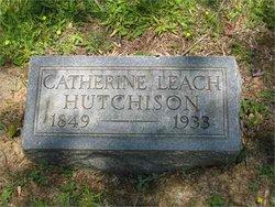 Catherine <i>McDaniel</i> Leach-Hutchison