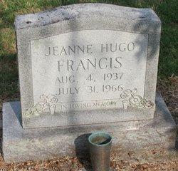 Jeanne <i>Hugo</i> Francis