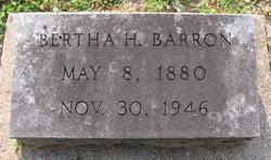 Bertha H. <i>Hamblin</i> Barron
