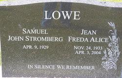 Jean Freda Alice Lowe