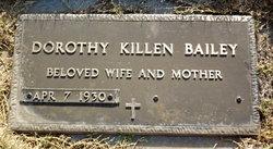 Dorothy <i>Killen</i> Bailey