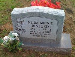 Neida Minnie <i>Rabner</i> Binford