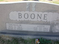 Tommy M Boone