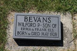 Wilfred P Bevans