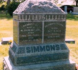 Harriet Chandler <i>Hammond</i> Simmons