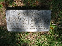 Thomas Gilbert Masterson