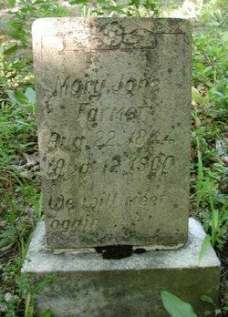 Mary Jane <i>Weaver</i> Farmer