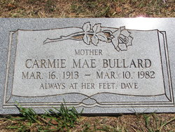 Carmie Mae <i>Nuckolls</i> Bullard
